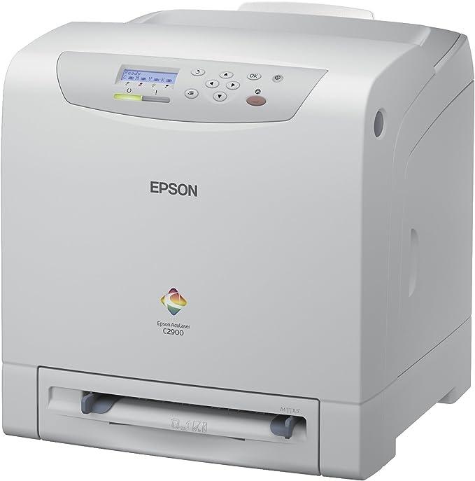 EPSON AcuLaser C2900N A4 Color Laser 23ppm 600dpi 250Blatt Papierkassette USB netzwerkfaehig