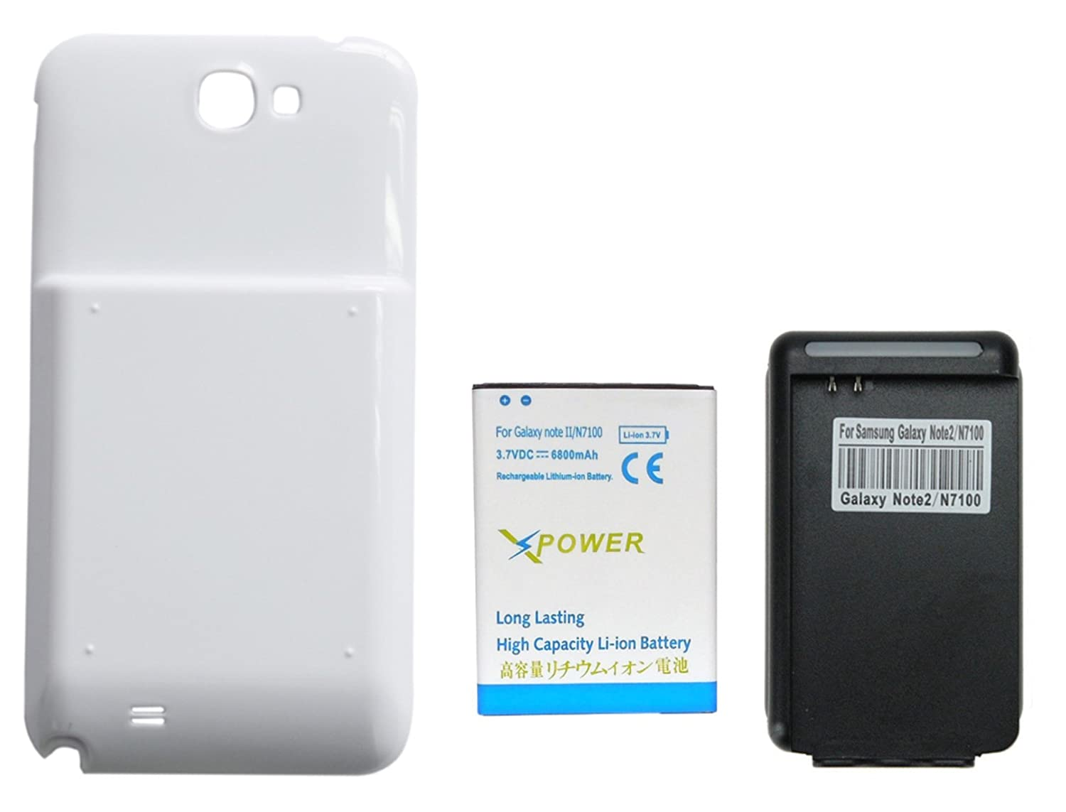 Amazon.com: X-Power 6800mAh Batería Extendida con Carcasa ...