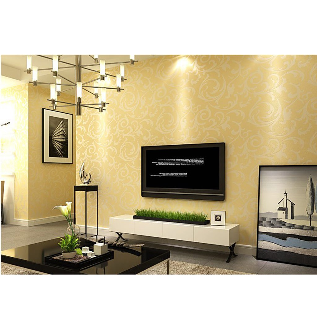 3D Stereo Printing Wall Stickers Art Wallpaper TV Backdrop Paper Non-Woven