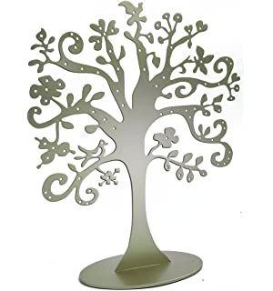 Amazoncom Jewelry Tree Stand Metal Jewelry Organizer Holder