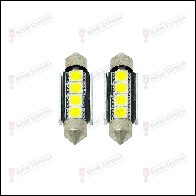 Bright White LED Number Plate Lights Lighting Upgrade