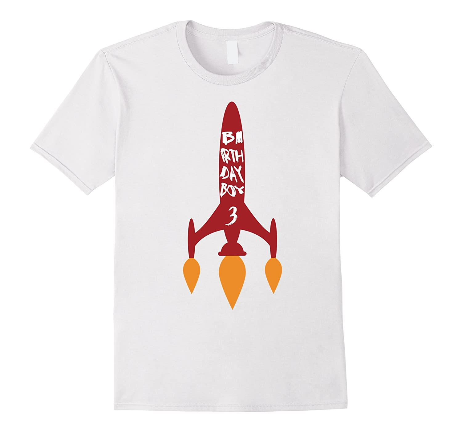 Birthday Boy 3 T Shirt Year Old Space Tee CL