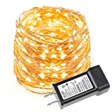 Amazon Price History for:LE 33ft LED String Lights, 100 LEDs, Copper Wire, Flexible Fairy Lights, Warm White, Indoor and Outdoor Starry String Lights for Garden, Patio, Wedding,Tree, Party, Christmas, Thanksgiving, UL Listed