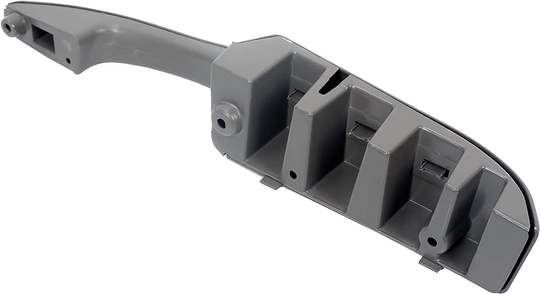 ECOTRIC Interior Door Pull Door Handle Pull Armrest For 2003-2017 Chevrolet Express Van GMC Savanna RH passenger Side Replace for # 10388387//and 15817114