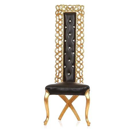Amazon Com Channel Salon High Back Throne Chair King Queen