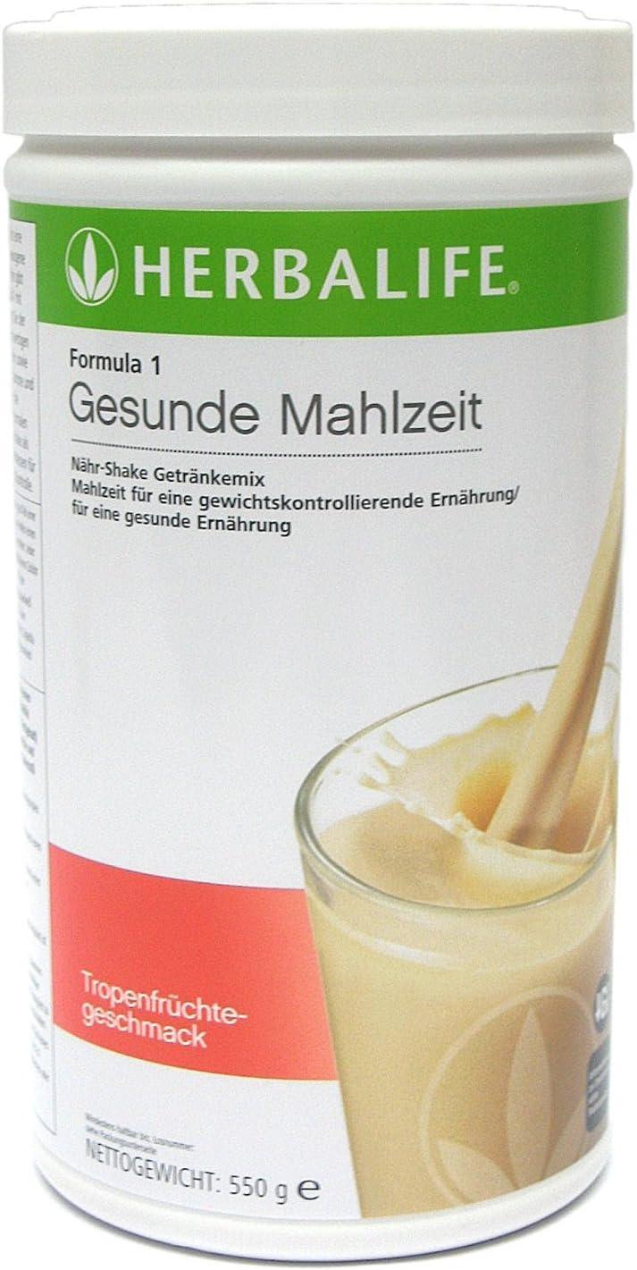 Herbalife Formula 1 batido nutricional sabor Fruta Tropical