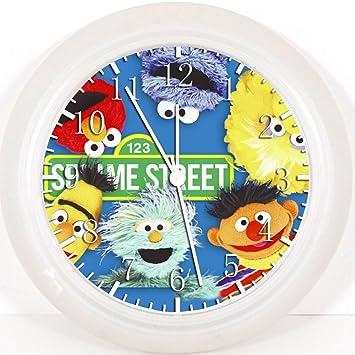Amazon.com: New Sesame Street Elmo Wall Clock 10\