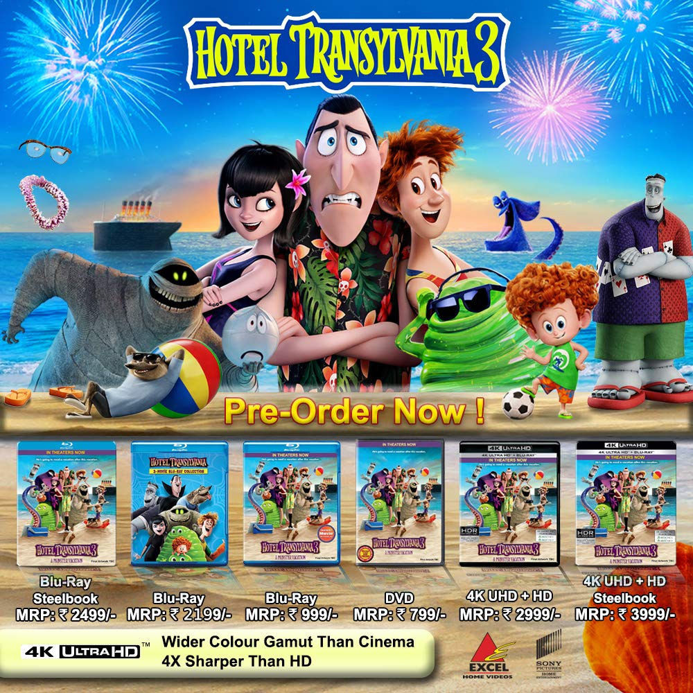 Amazonin Buy Hotel Transylvania 3 Movies Collection 1 2 DVD Blu Ray Online At Best Prices In India