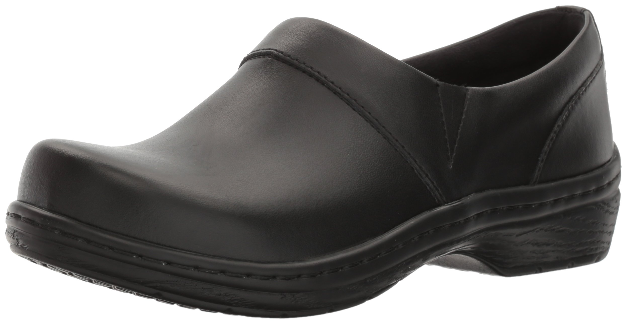 Klogs USA Women's Mission Clog,Black Smooth,7.5 W US