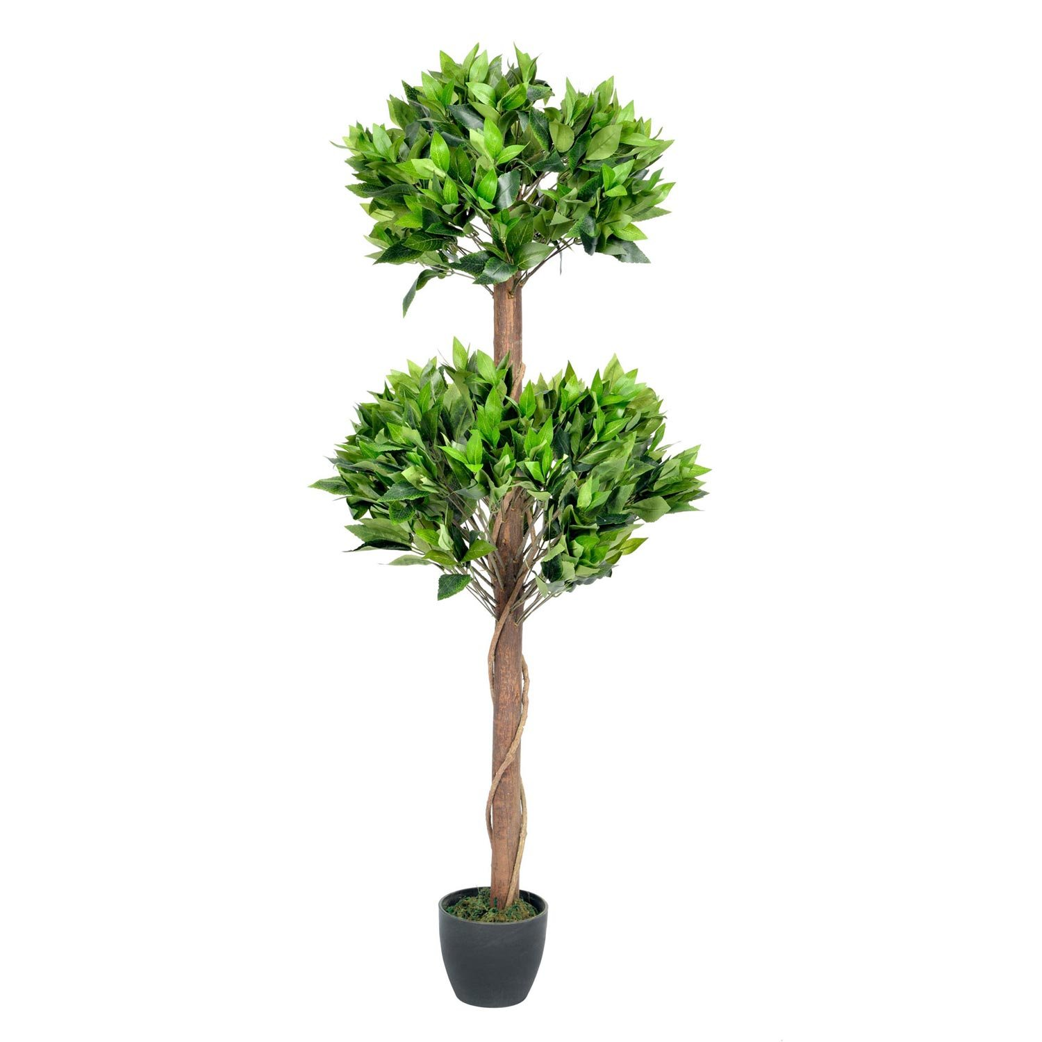 Homescapes  3 Ft Tall One Ball Topiary Tree