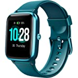 Letsfit Smart Watch, Fitness Tracker with Heart Rate Monitor, Activity Tracker with 1.3 Inch Touch Screen, IP68 Waterproof Pe