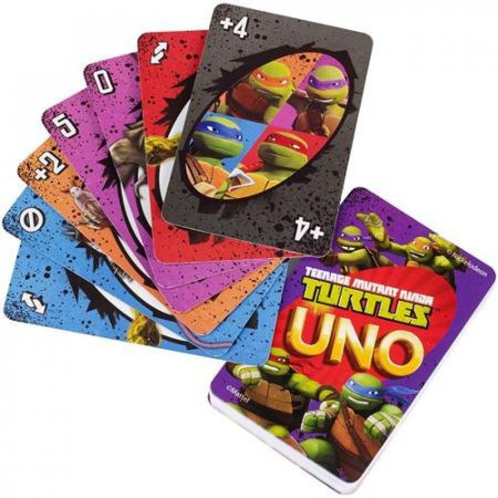 Amazon.com: teenage mutant ninja turtles Juego de cartas UNO ...