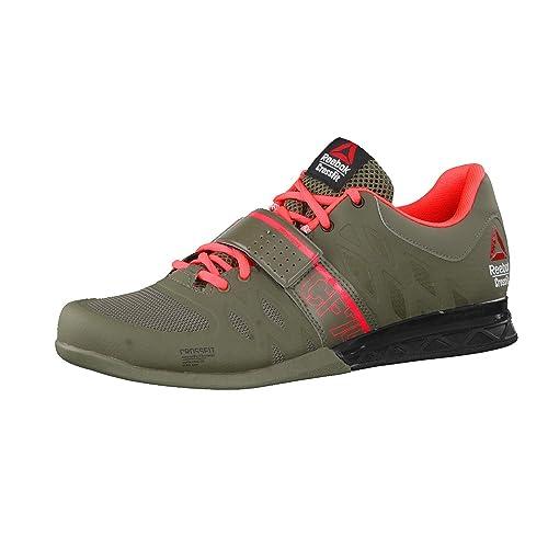 Reebok - Zapatillas de Material Sintético para hombre, color Verde, talla 44 EU: Amazon.es: Zapatos y complementos