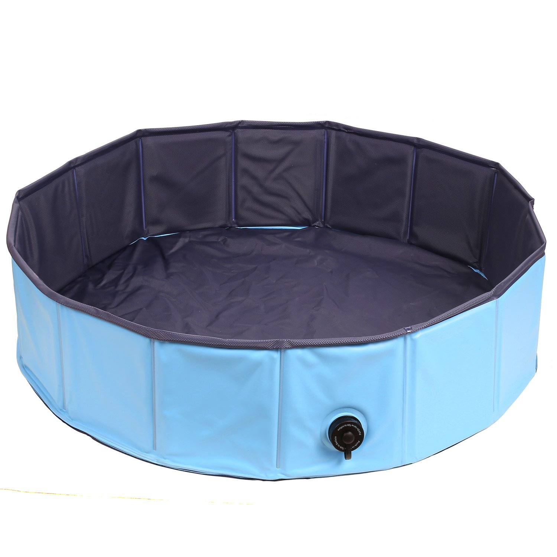 Amazon.com: PEDY Pet Swimming Pool, Inflatable Dog Bathtub Tub ...