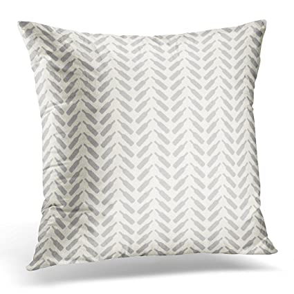 Amazoncom Torass Throw Pillow Cover Country Herringbone Wine
