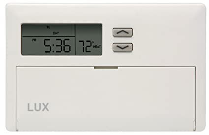 lux products tx1500e smart temp programmable thermostat rh amazon com lux 1500 thermostat instructions lux wx 1500 thermostat manual