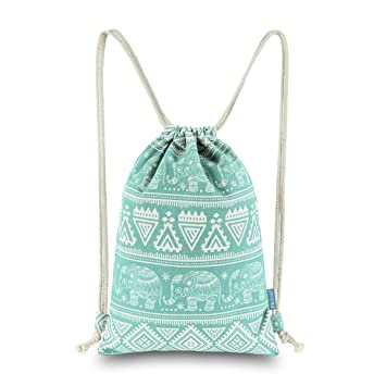 Amazon.com: miomao mochila de cordón Gimnasio Mochila ...