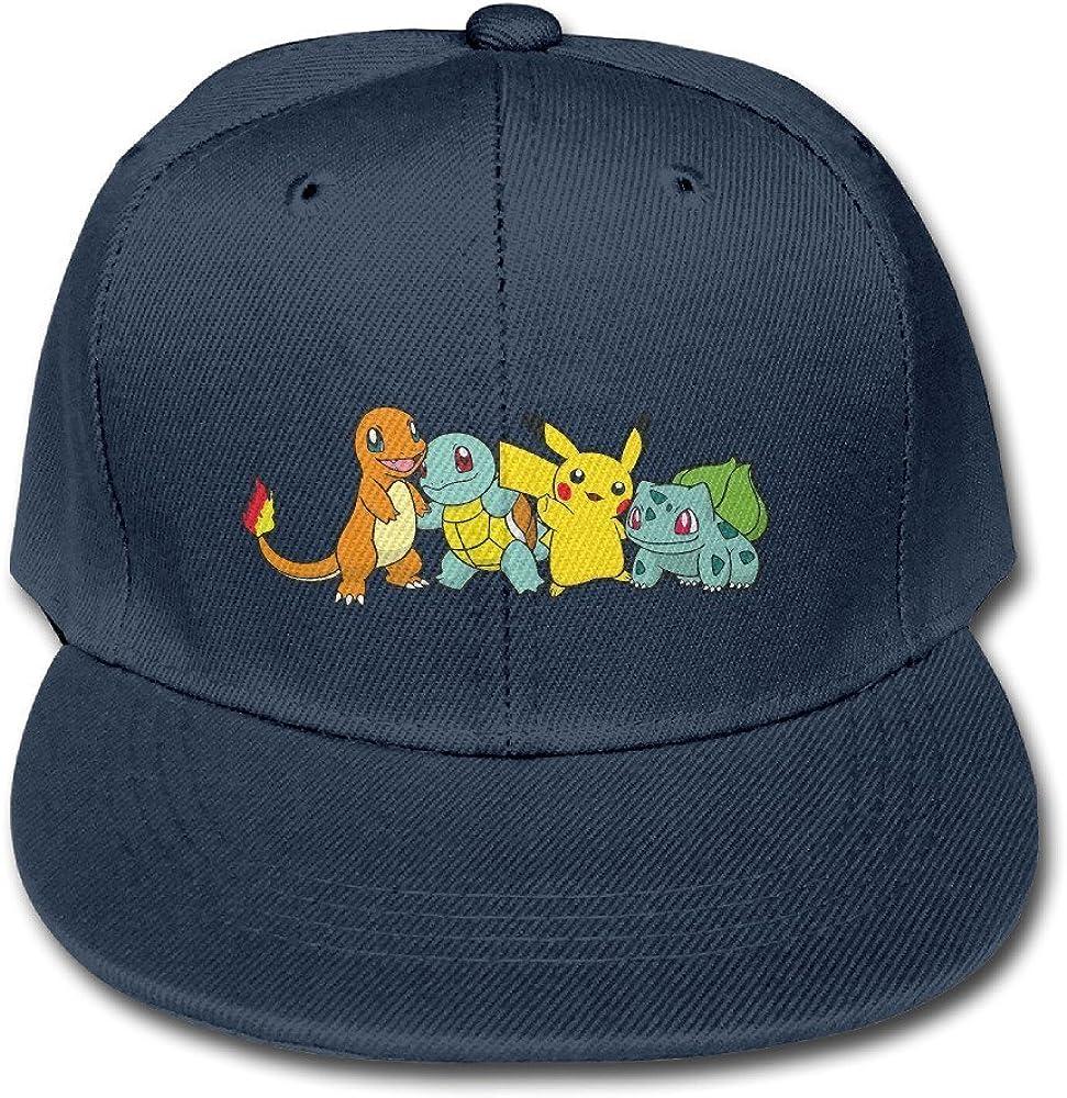 Kids Women Men Pikachu Pokemon Cap Baseball Hat Party Hat Boys Girls
