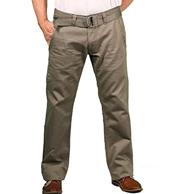 52533a01d29657 Jordan Craig Young Men s Belted Twill Casual Pant at Amazon Men s Clothing  store