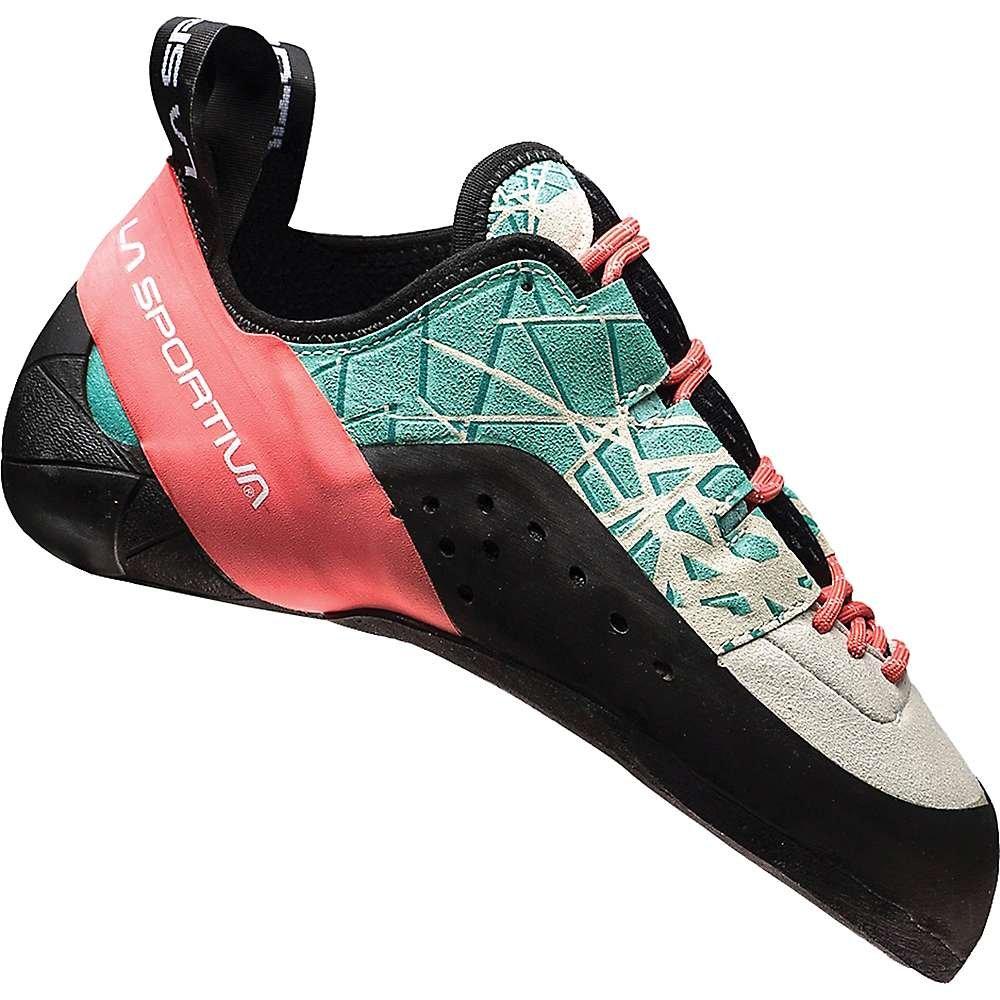La Sportiva KATAKI Women's Climbing Shoe, Mint/Coral, 41 by La Sportiva