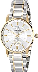 Ultimus Men's Silver Dail Stainless Steel Band Watch