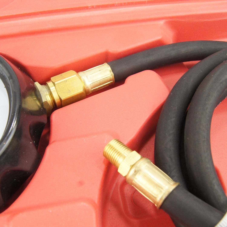 449852 Car Wave Box Oil Pressure Meter Test Kit Tester Gauge Garage Tool