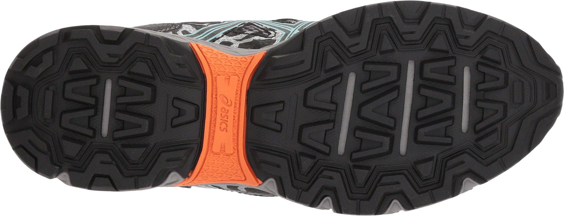 ASICS Womens Gel-Venture 6 Running Shoes Black/Ice Green/Orange 5 B(M) US by ASICS (Image #3)