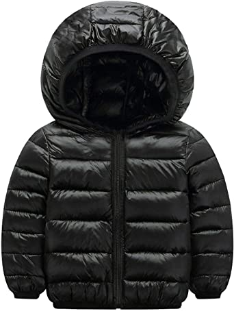 UK Mens Hoodie Padded Coat Jacket Puffer Bubble Winter Warm Coats Zip Up Outwear