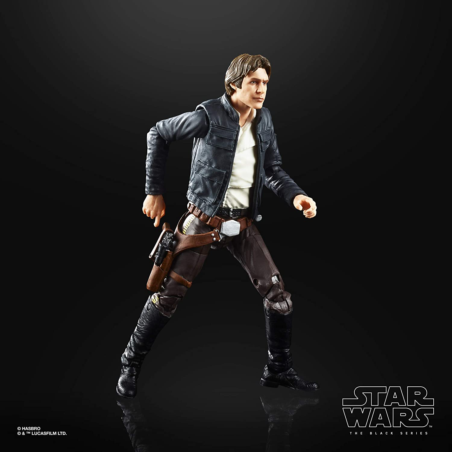 6-inch Scale The Empire Strikes Back 40TH Anniversary Collectible Action Figure Bespin Star Wars The Black Series Han Solo