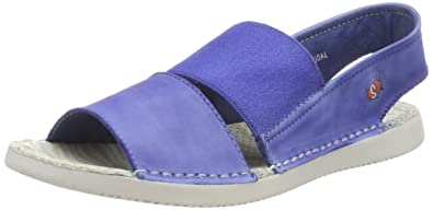 TAI383SOF Washed, Sandales Bride Arriere Femme, Violett (Lilac), 42 EUSoftinos
