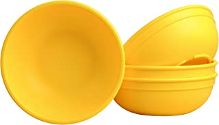 """product image for Re Play Made in USA Set of 4-5.75"""" Yellow Bowls