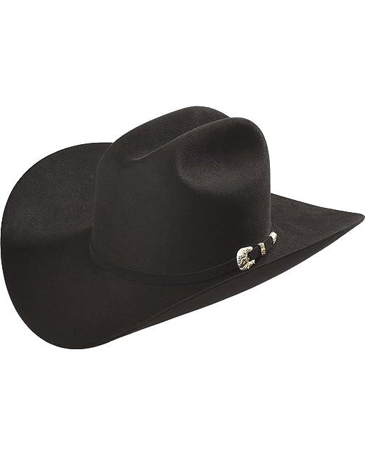 d6a86f9e Larry Mahan Men's Imperial 1000X Felt Hat Black 7: Amazon.ca ...