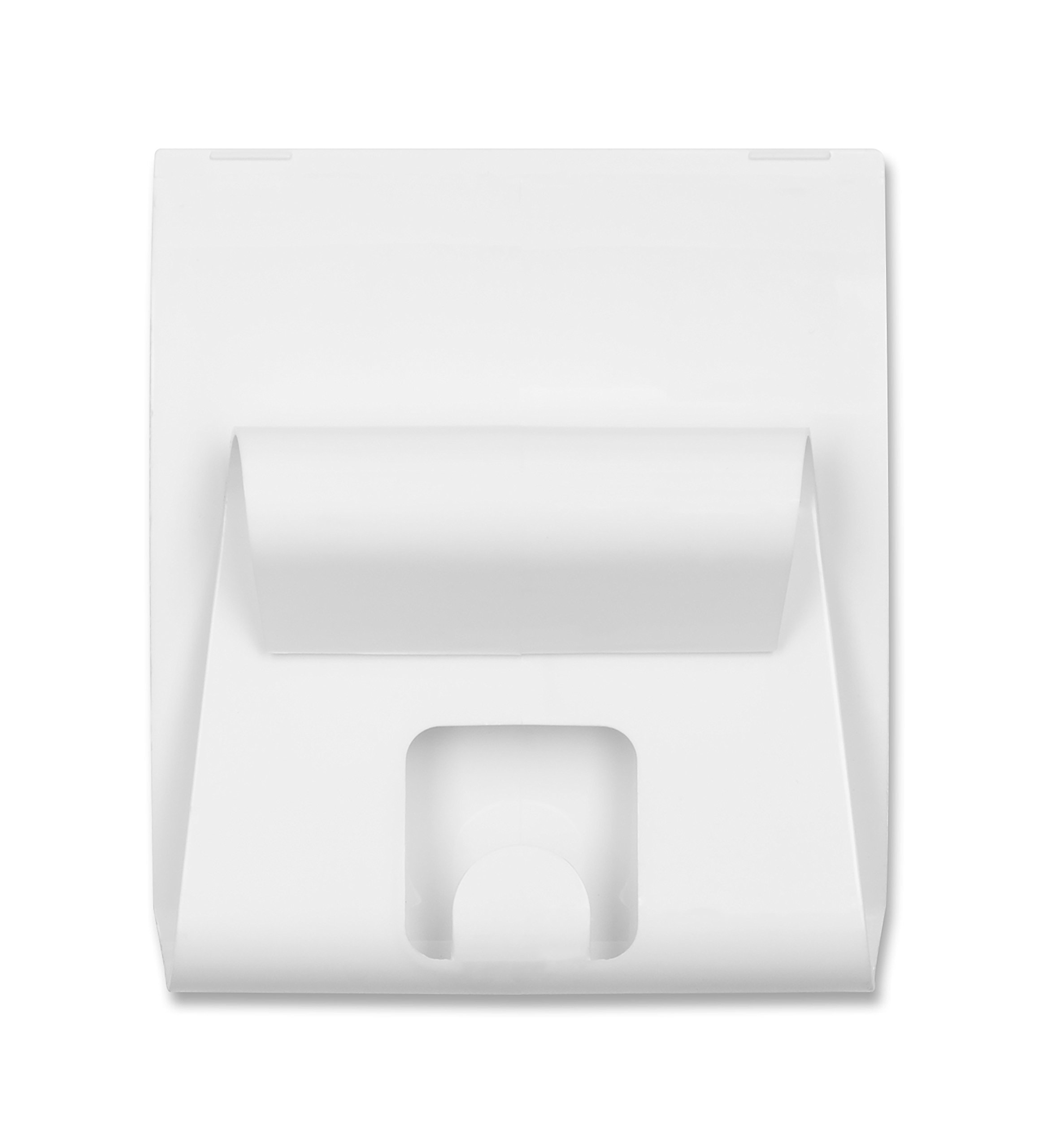 U Brands Gruv Magnetic Mail Holder with Key Hook, White, 3.5 x 3.25 Inches by U Brands (Image #2)