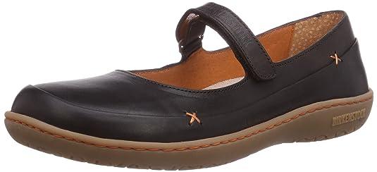 Shoes IONA DAMEN - Mary Jane de cuero mujer, color marrón, talla 40 Birkenstock