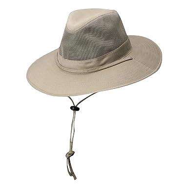 8a952b30b01 Dorfman Pacific DPC Outdoors Solarweave Treated Cotton Hat (Small
