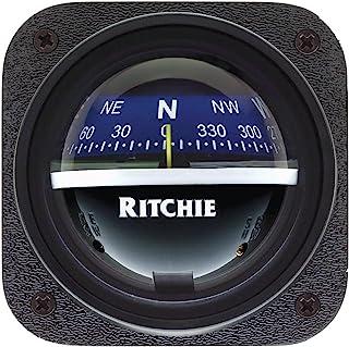 RITCHIE V-537B EXPLORER BULKHEAD MT COMPASS BLUE DIAL