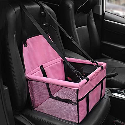 Prodigen Pet Booster Seat Dog Car For Small Dogs Carrier And Medium
