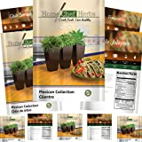 [Mexican Variety] Herb & Pepper Seeds - Non GMO - Jalapeno Seeds, Tomatillo Seeds, Anaheim Peppers Seeds, Cilantro Seeds, Poblano Peppers - Heirloom Hot Salsa Seeds by Home Chef Herbs