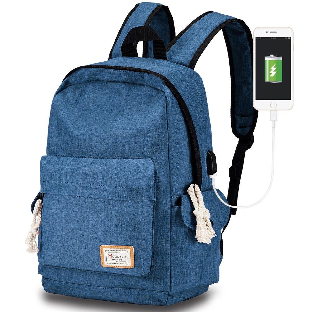 e60baa5230e9 Amazon.com  Travel Laptop Backpack with USB Charging Port
