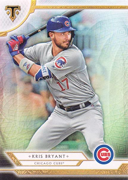 4bd01c8b10f Image Unavailable. Image not available for. Color  2018 Topps Triple Threads  Baseball  3 Kris Bryant Chicago Cubs