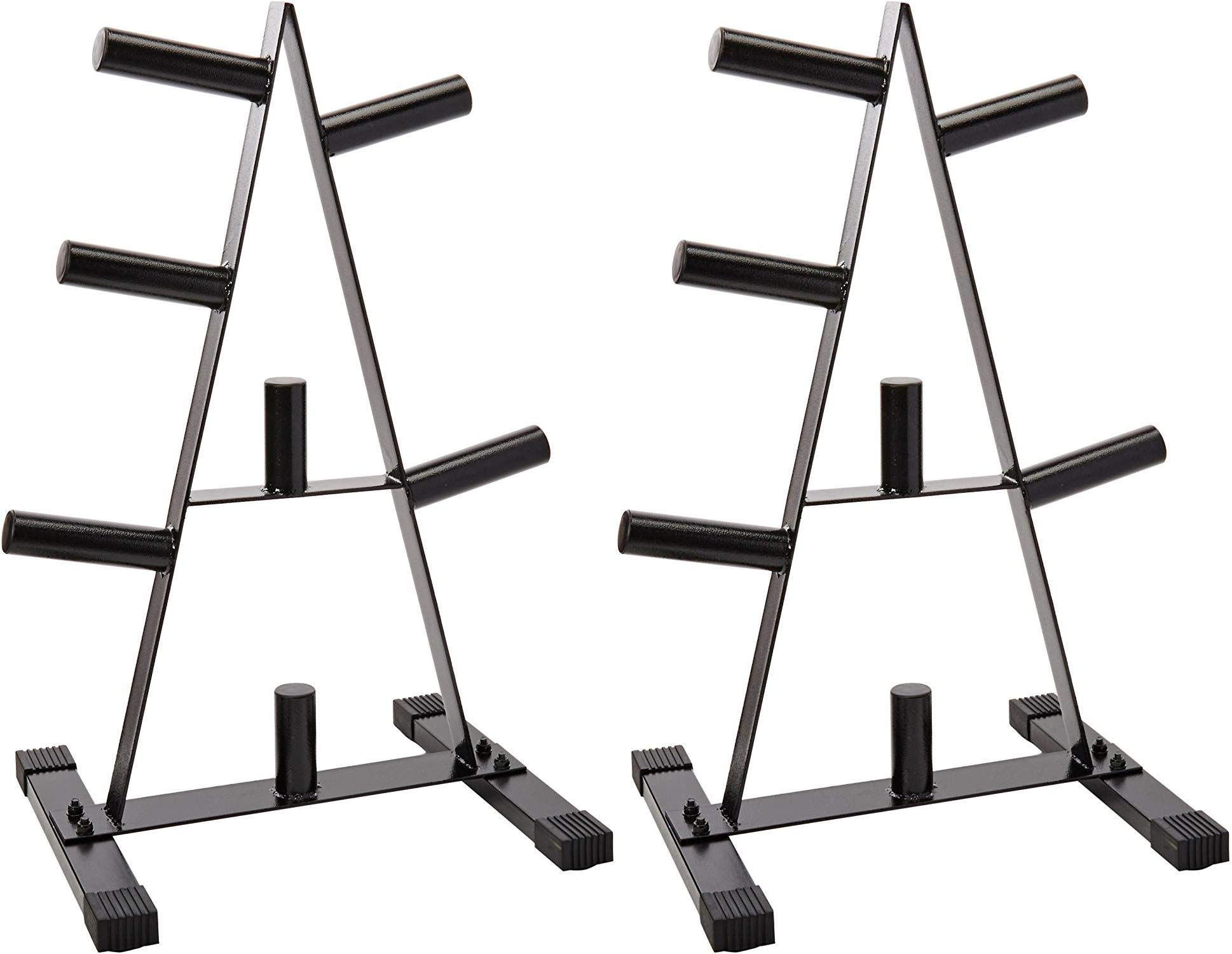 CAP Barbell Olympic 2-Inch Plate Rack Pack of 2 by CAP Barbell