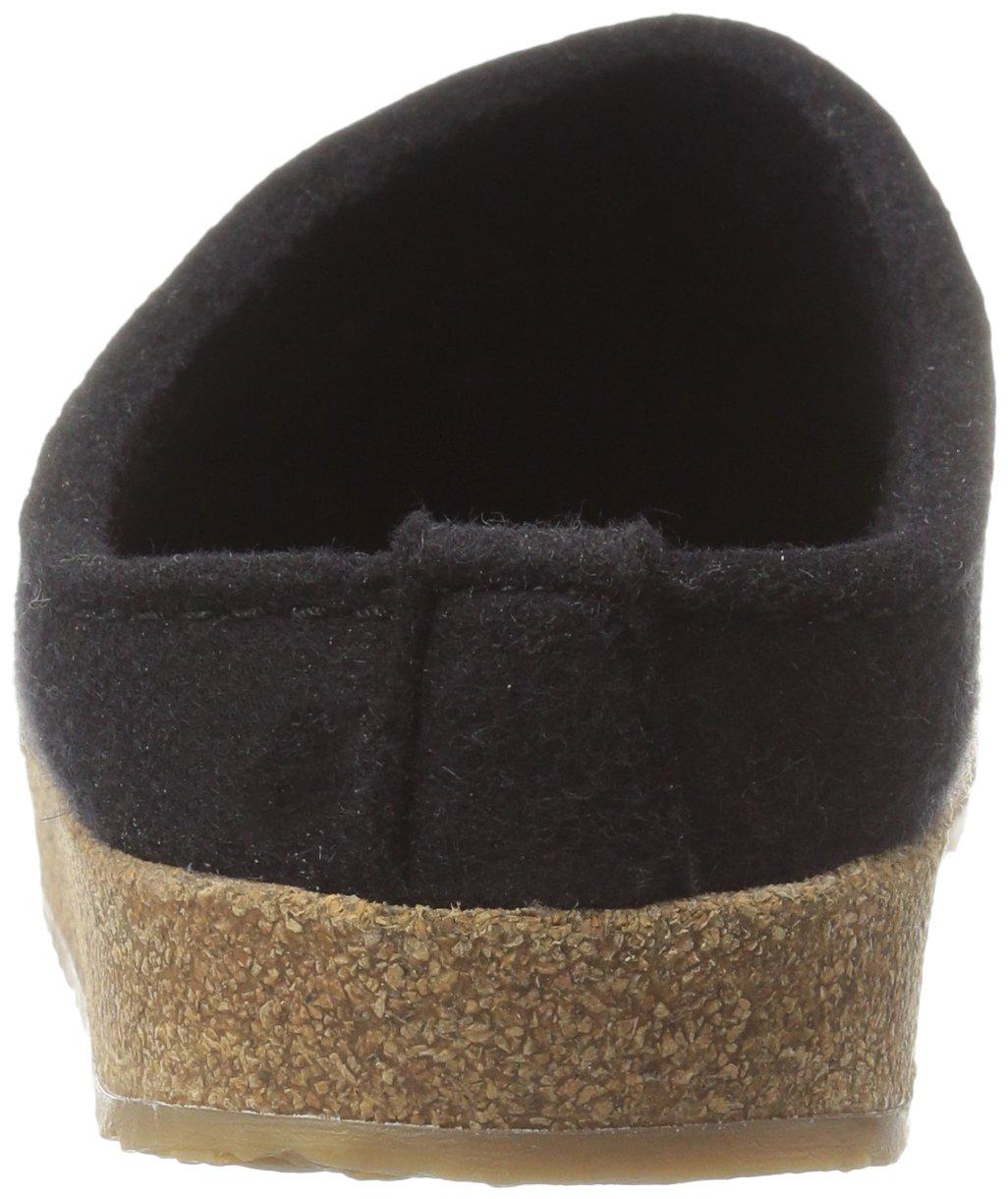 Haflinger Women's Gz Shopping Black Flat B01FDF9PJI 37 M EU / 6 B(M) US Black