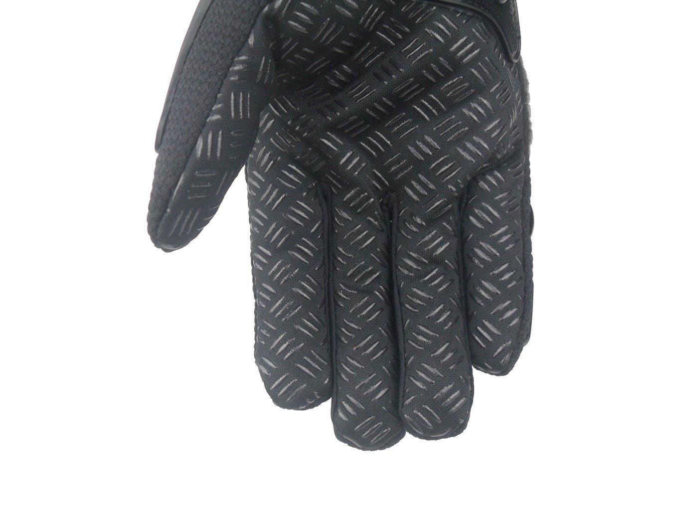 protezione in lega di acciaio per moto Madbike guanti da motociclismo