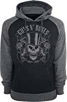 Guns N' Roses Skull And Pistols Kapuzenpulli schwarz/grau