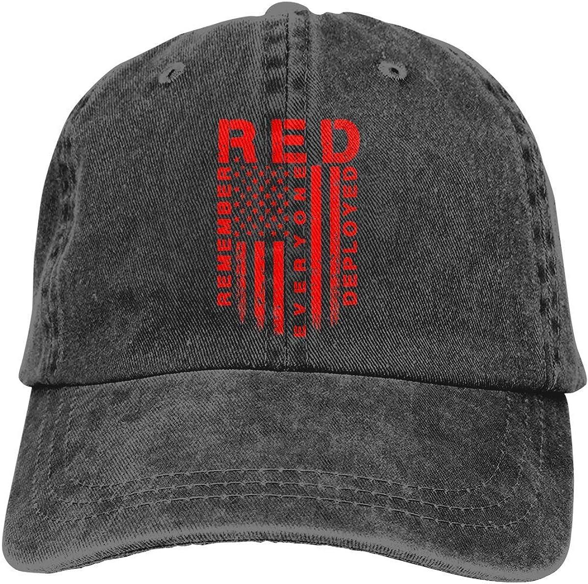 Sdltkhy Red Friday - Gorra de béisbol ajustable para hombre y mujer, diseño de bandera americana