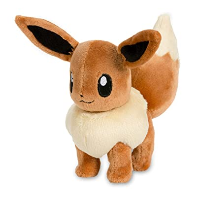 Pokémon Center: Eevee Poké Plush, 6 Inch: Toys & Games