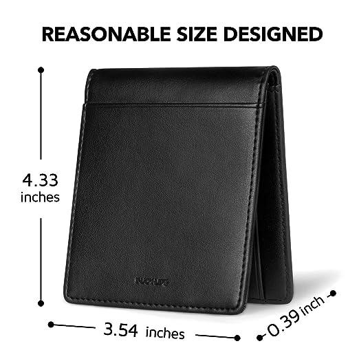 Amazon.com: INJOYLIFE - Monedero de piel para hombre, diseño ...
