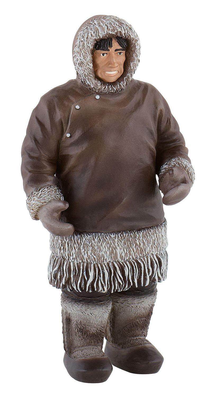 amazon com bullyland bullyland figurine world figure inuit man