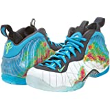 sale retailer 0f242 ca7f9 Nike Men s Air Foamposite One PRM, Weatherman - WHITE CURRENT BLUE-FLASH  LIME
