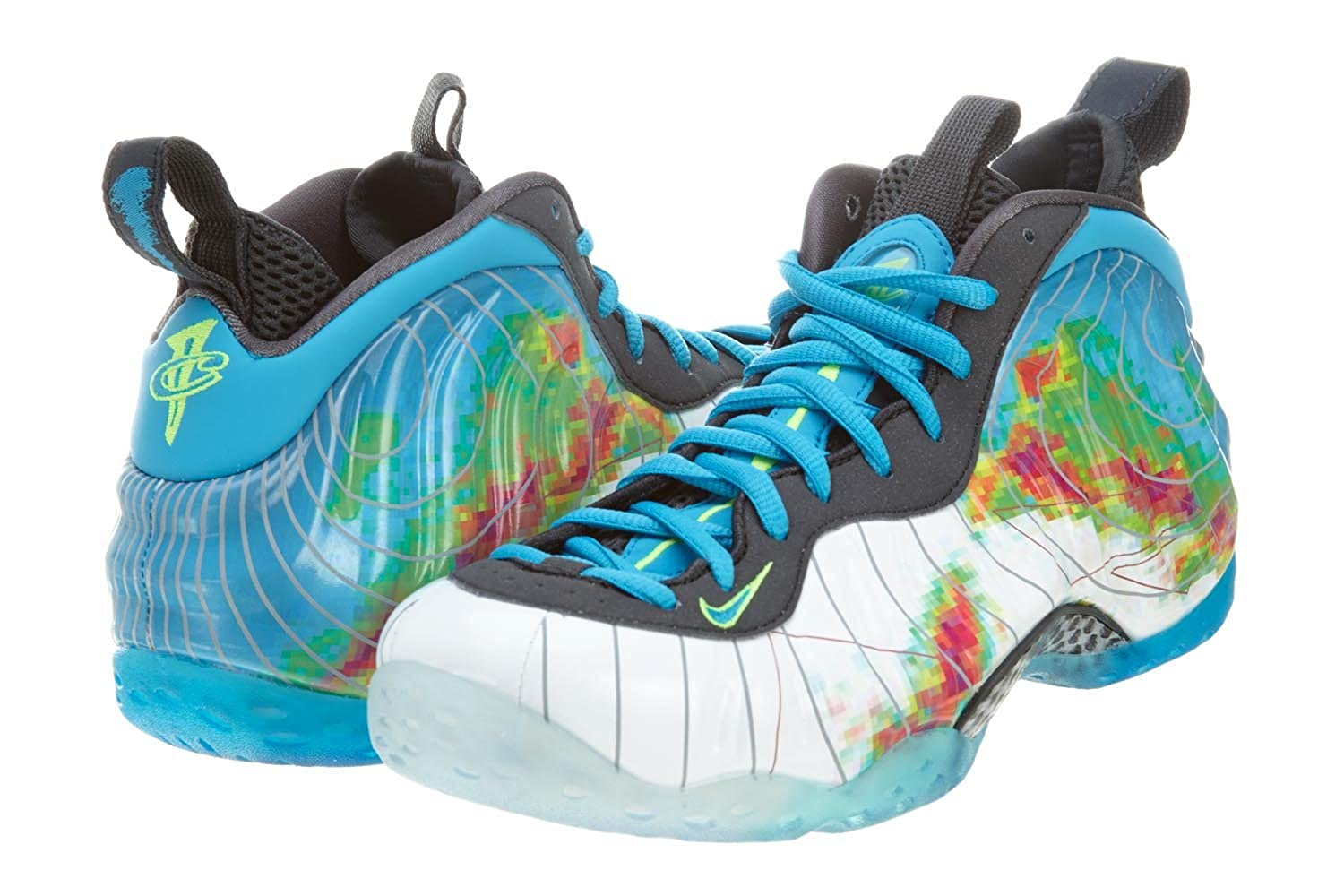 [NIKE - ナイキ] AIR FOAMPOSITE ONE PRM 'WEATHERMAN' - 575420-100 (メンズ) B00EWT3Z6Q  13
